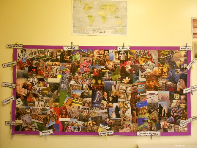 """English Classroom Display"""