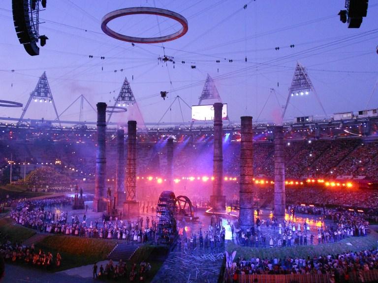 """""""Olympic Opening Ceremony II"""""""