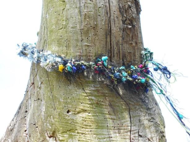 """Tree Yarn Bomb"""