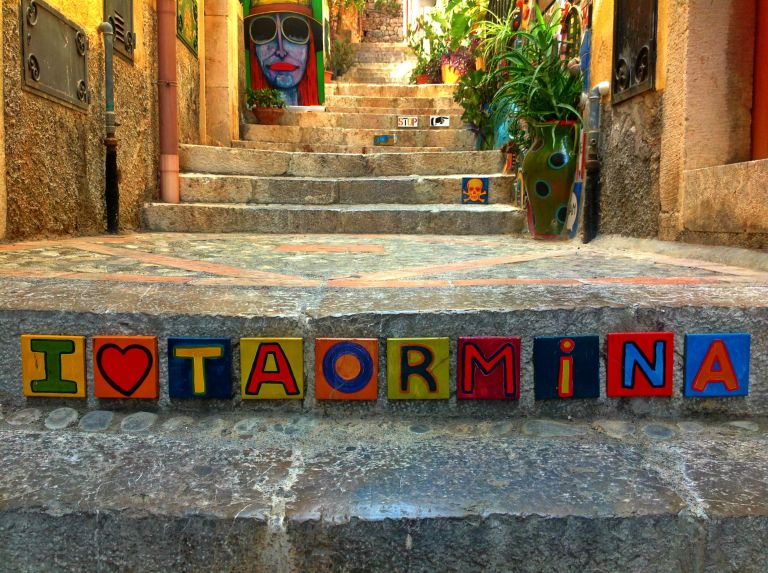 Lost in Taormina