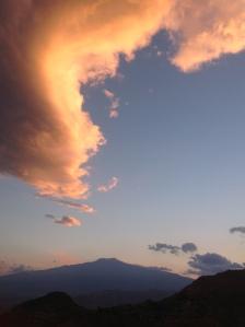 Mt Etna Clouds