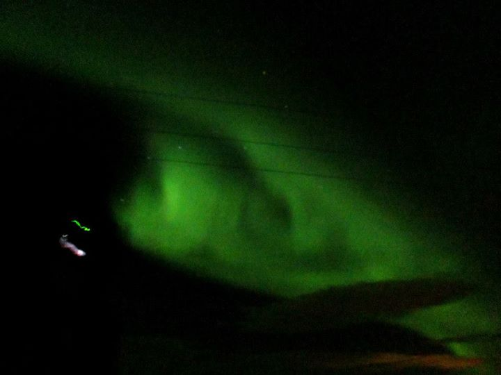 The Day Aurora Followed Us - Northern Lights